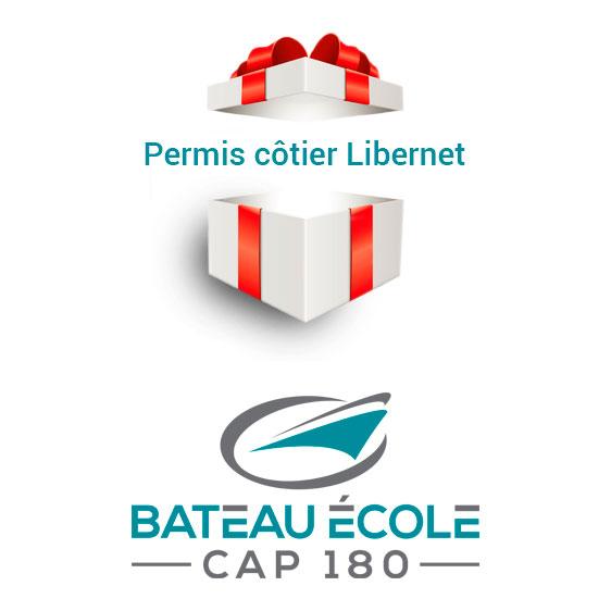 chèque cadeau permis bateau côtier Libernet